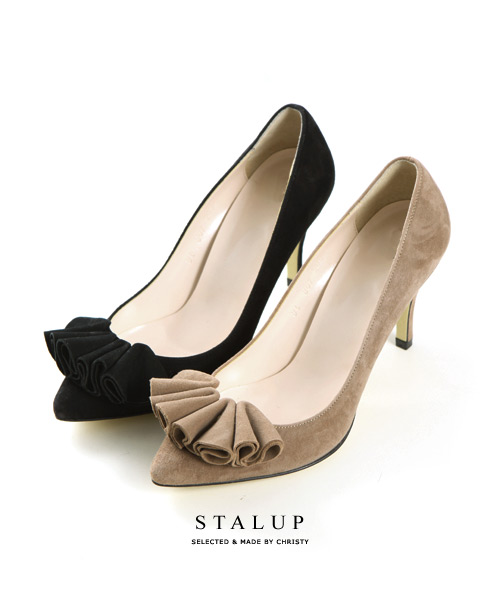 50%↓shirring Heel