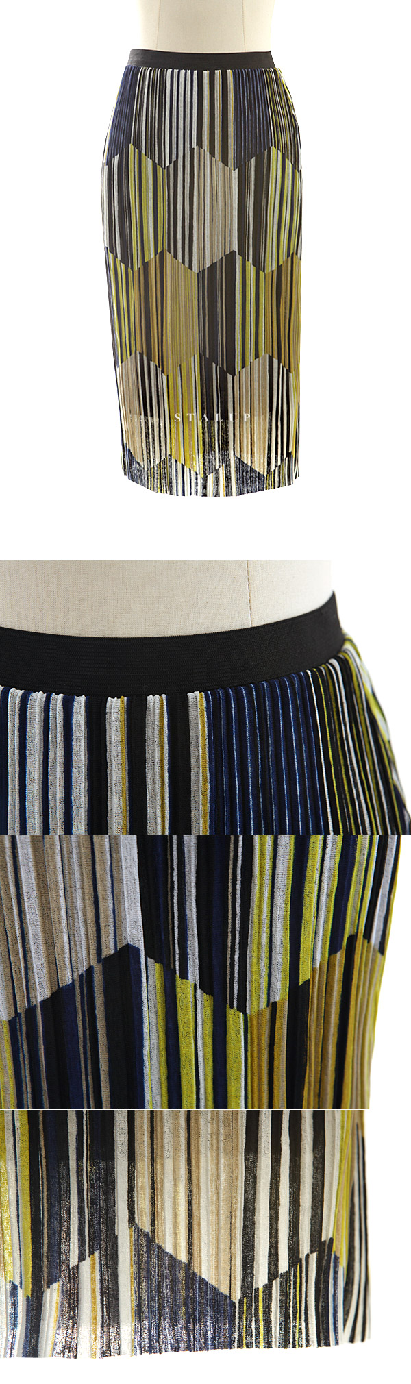 MARN pleats skirt