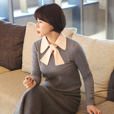 Chlo collar knit